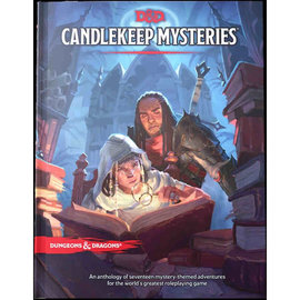 Wizards of the Coast (PREORDER) Dungeons and Dragons: Candlekeep Mysteries (Standard Cover)