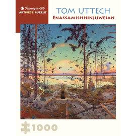 Pomegranate Tom Uttech: Enassamishhinjijweian 1000-Piece Jigsaw Puzzle