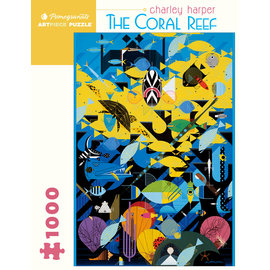 Pomegranate Charley Harper: The Coral Reef 1000-Piece Jigsaw Puzzle