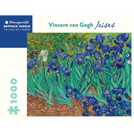 Pomegranate Van Gogh: Irises 1000-Piece Jigsaw Puzzle