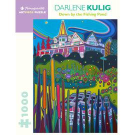 Pomegranate Darlene Kulig: By the Fishing Pond 1000-Piece Jigsaw Puzzle