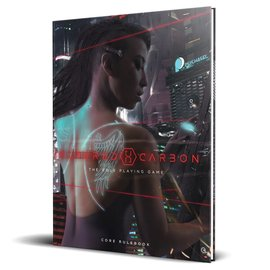 Renegade Altered Carbon RPG - Core Rulebook