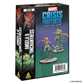 Fantasy Flight Marvel: Crisis Protocol - Angela and Enchantress Character Pack