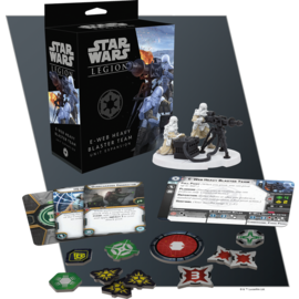 Fantasy Flight Star Wars Legion - Imperial - E-Web Heavy Blaster Team Unit Expansion