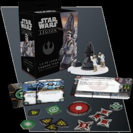 Fantasy Flight Star Wars Legion - Rebel - 1.4 FD Laser Cannon Team Unit Expansion