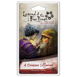 Fantasy Flight L5R LCG: A Crimson Offering Dynasty Pack