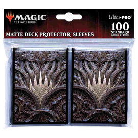 Ultra Pro Magic Standard Sleeves 100ct - Kaldheim Stylized Planeswalker Symbol