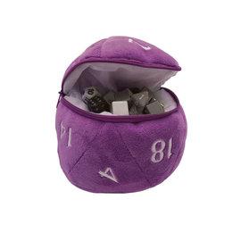 Ultra Pro D20 Plush Dice Bag - Purple