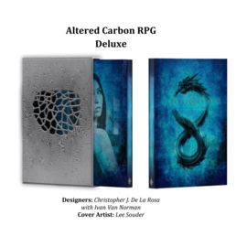 Renegade Altered Carbon RPG - Deluxe Core Rulebook