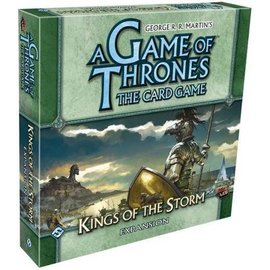 Fantasy Flight A Game of Thrones: The Card Game - Kings of the Storm