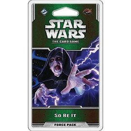 Fantasy Flight Star Wars: The Card Game - So Be It Force Pack