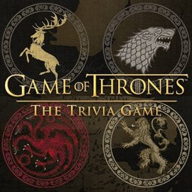 Fantasy Flight Game of Thrones (HBO EDITION): The Trivia Game
