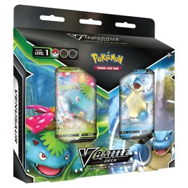 Pokemon International V Battle Decks: Venusaur vs Blastoise