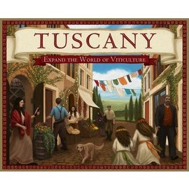 Stonemaier Games Tuscany - Expand the World of Viticulture