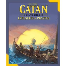 Mayfair Games Catan: Explorers & Pirates - 5-6 Player Extension (2015)