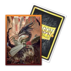 Arcane Tinmen Dragon Shields: (100) Classic Art Sleeves - Valentine Dragons 2021 Edition