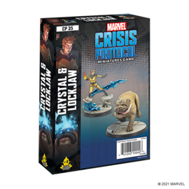 Fantasy Flight Marvel: Crisis Protocol - Crystal and Lockjaw Character Pack