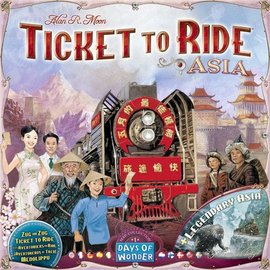 Days of Wonder Ticket to Ride Map Collection: Volume 1 - Asia & Legendary Asia