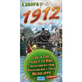 Days of Wonder Ticket to Ride: Europa 1912