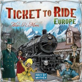 Days of Wonder Ticket to Ride: Europe (ANA Top 40)