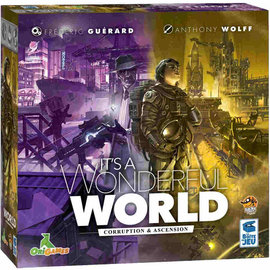 Lucky Duck Games It's a Wonderful World: Corruption & Ascension Expansion