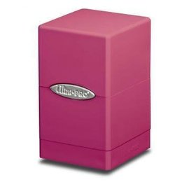 Ultra Pro Satin Tower Bright Pink Deck Box