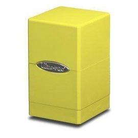 Ultra Pro Satin Tower Bright Yellow Deck Box
