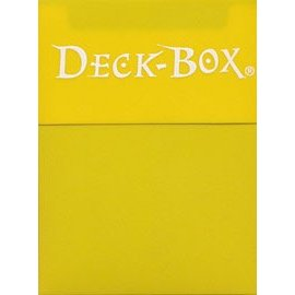Ultra Pro Ultra Pro Yellow Deck Box