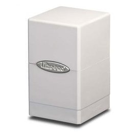 Ultra Pro Satin Tower White Deck Box