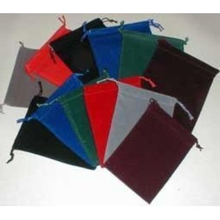 Chessex Suede Cloth Dice Bag - Assorted Large