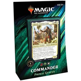 Wizards of the Coast Commander 2019 - Primal Genesis (Populate)
