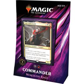 Wizards of the Coast Commander 2019 - Merciless Rage (Madness)