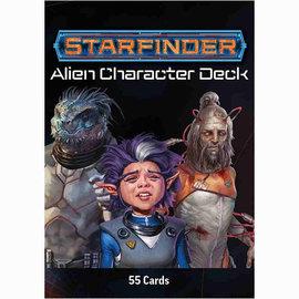 Paizo Starfinder RPG: Alien Character Deck
