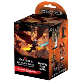 Wiz Kids D&D Fantasy Miniatures: Icons of the Realms Set 12 - Descent into Avernus- Booster Pack