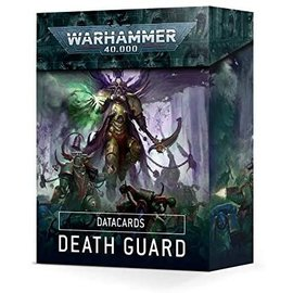 Games Workshop Warhammer 40k - Datacards: Death Guard (New)