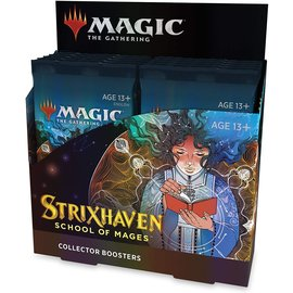 Wizards of the Coast (PREORDER) Strixhaven Collector Booster Box