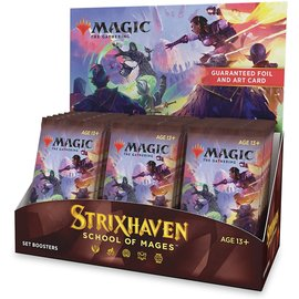 Wizards of the Coast (PREORDER) Strixhaven Set Booster Box