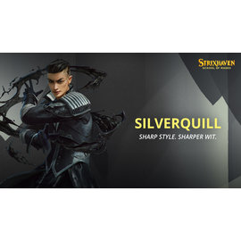 Wizards of the Coast Magic Strixhaven Pre-Release Kit - Silverquill (Black White)