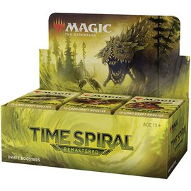 Wizards of the Coast (PREORDER - Local Only) Magic Time Spiral Remastered Booster Box