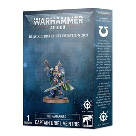 Games Workshop Warhammer 40k - Space Marines -  Ultramarines Captain Uriel Ventris