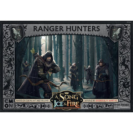 Cool Mini or Not A Song of Ice & Fire: Tabletop Miniatures Game  - Night`s Watch Ranger Hunters Unit Box