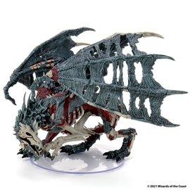 Wiz Kids D&D Fantasy Miniatures: Boneyard Premium - Green Dracolich