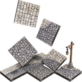 Wiz Kids WarLock Tiles: Town & Village - Town Square