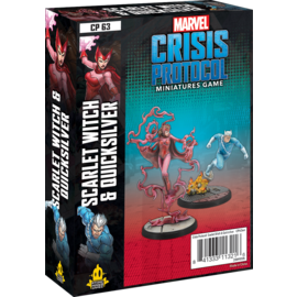 Fantasy Flight Marvel: Crisis Protocol - Scarlet Witch & Quicksilver Character Pack