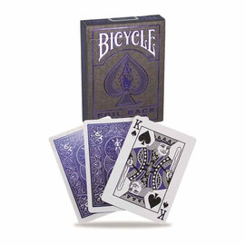 Bicycle Standard Playing Cards (Poker) - Metalluxe Blue
