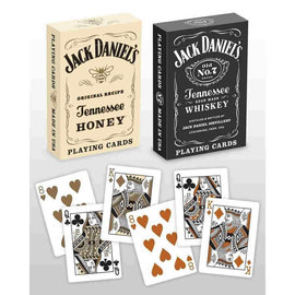 Bicycle Standard Playing Cards (Poker) - Jack Daniels Black/Honey