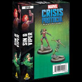 Fantasy Flight Marvel: Crisis Protocol - Sin and Viper Character Pack
