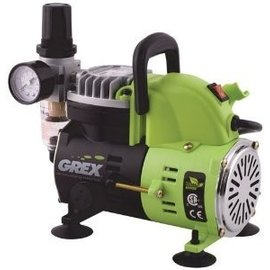 Grex AC1810-A - 1/8 HP Portable Piston Compressor (115V)