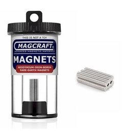 Magcraft Magcraft Rare Earth Magnets - 150 .125 x .03125 inches