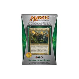 Wizards of the Coast Commander 2013: Nature of the Beast - Japanese